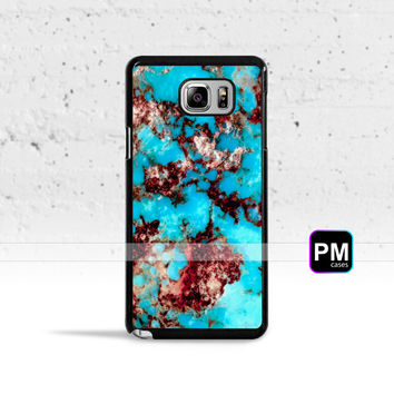 Turquoise Stone *Design Case Cover for Samsung Galaxy S3 S4 S5 S6 S7 Edge Plus Active Mini Note 3 4 5 7