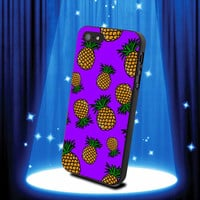 Cute Summer Pineapple Printed Design by walabao for iPhone 4/4s and iPhone 5 Case, samsung s2, s3 s4 case cover