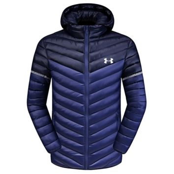 UNDER ARMOUR Winter Man Ultralight Hoodie Long Sleeve Down Jacket