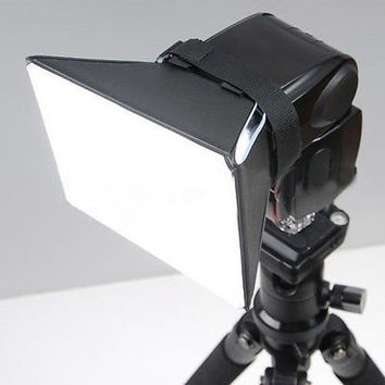 Pop-up Flash Diffuser Soft Box For Canon Nikon Sigma Off-Camera