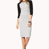 Laid Back Raglan Midi Dress