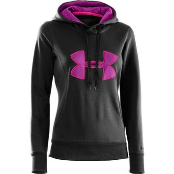 Under Armour® Women's Armour® Fleece Storm Big Logo Hoodie