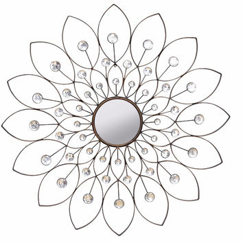 SHD-SHD0010 Decorative Flower Mirror