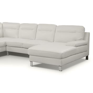 Cortina II Leather 3 Pc. Sectional