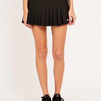 Fila Lawn Black Mini Skirt - Urban Outfitters