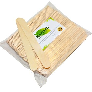 "Karlash Jumbo Craft Sticks 6"" Length Pack of 100 Pieces"