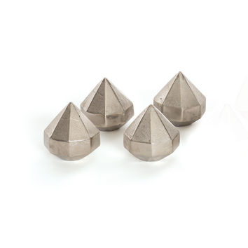 Diamond Paperweights - Set of Four