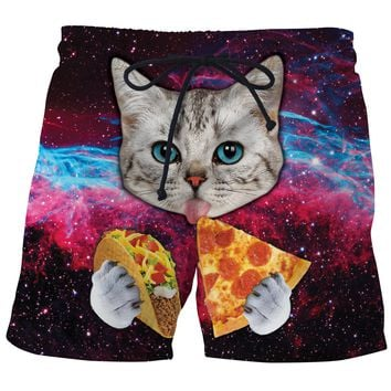 Taco Cat Board Shorts
