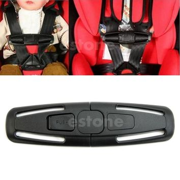 Very Durable Car Baby Safety Seat Strap Belt Harness Chest Child Clip Safe Buckle