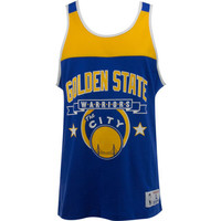 Golden State Warriors NBA Color Blocked Tank