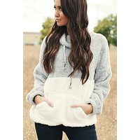 Two Sided Story Sweater (Grey)