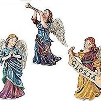 Dept 56 Heralding Angels -3 Pieces