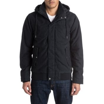Quiksilver Male Everyday Brook Jacket, Black (Size M)