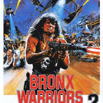 Bronx Warriors 2 11x17 Movie Poster (1983)
