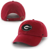 Georgia Bulldogs '47 Brand Clean Up Adjustable Hat - Red