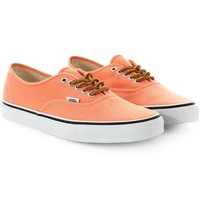 Baskets Vans Authentic Brushed Twill Fresh Salmon - LaBoutiqueOfficielle.com