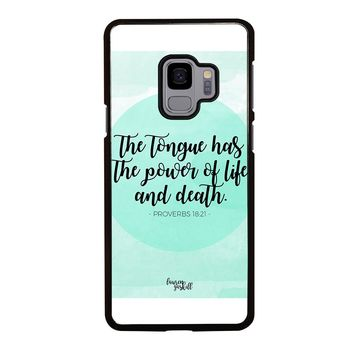 BIBLE VERSES FOR ANGER Samsung Galaxy S3 S4 S5 S6 S7 S8 S9 Edge Plus Note 3 4 5 8 Case