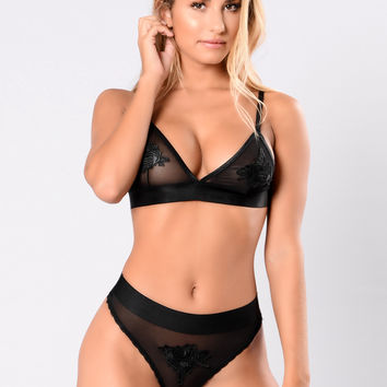 Love Therapy Bra - Black