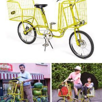 Camioncyclette Bike with ShoppingCart | Bike | Gear