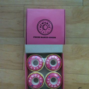 Odd Future Wolf Gang Golf Wang Flog Gnaw OFWGKTA Donut Skateboard Wheels Size 52