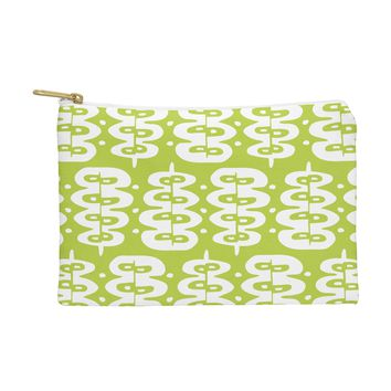 Heather Dutton Fern Frond Green Pouch