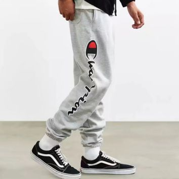 "Men""Champion"" Fashion Print Sport Stretch Pants Trousers Sweatpants"