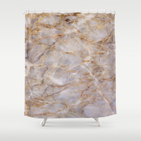 Marble Texture 43 Shower Curtain by Robin Curtiss