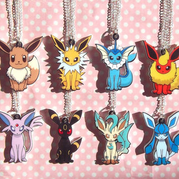Super Cute Eeveelution pendant necklaces