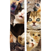 Surprised Cats Crew Socks