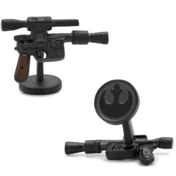 Han Solo 3D DL44 Blaster Cufflinks BY STAR WARS