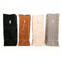 SALE Lunch Bag // Waxed Canvas Lunch Bag // Lunch Bags // Canvas Lunch Bag