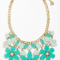 kate spade new york 'gardens of paris' stone statement necklace