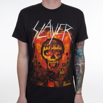 "Slayer ""Seasons Primitive"" T-Shirt"