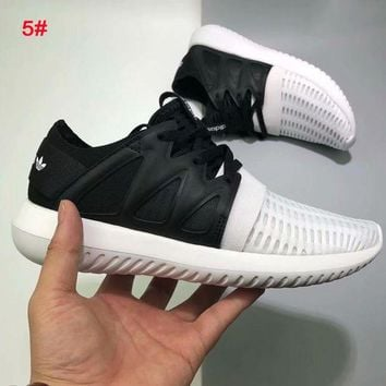 Adidas tubular defiant Fashion Woman Men Running Sneakers Sport Shoes Black/white