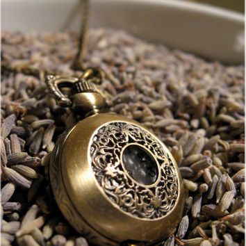The Isabella Delicate Pocket Watch by sodalex on Etsy