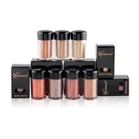 Professional 17 Colors Makeup Glitter Eyeshadow Shimmer Pigment Shiny Loose Powder Beauty Make Up Nude Eye Shadow #251541