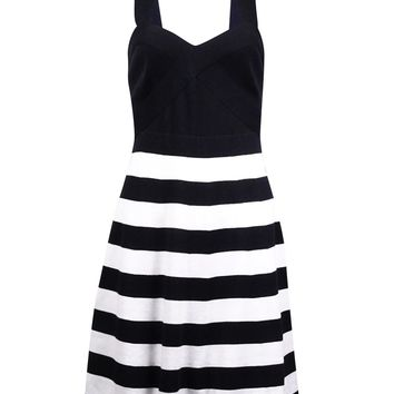 Trina Turk Women's Stripe Knitted Dress
