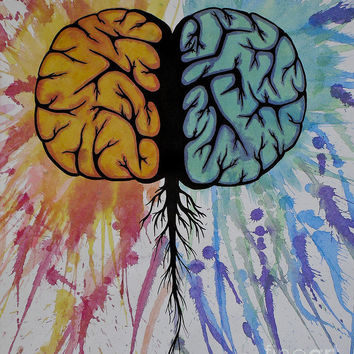 The Brain Painting by Holly Hunt - The Brain Fine Art Prints and Posters for Sale