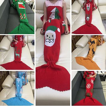 Mermaid Party to Be Adored Blanket Autumn&Winter Gift