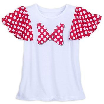 Disney Parks I Am Minnie Mouse Bow T-Shirt for Women Large New with Tag