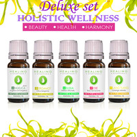 Wellness collection- Natural healing- Holistic Aromatherapy- 100% Pure essential oils -  Ayurveda oils - therapeutic oils- bath & skin care