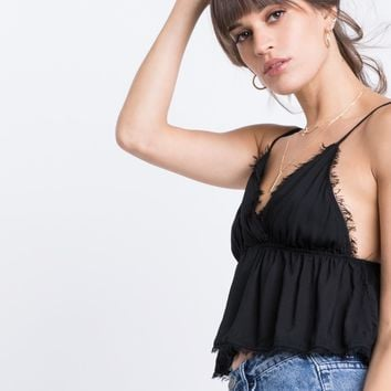 Honey Fringe Crop Top