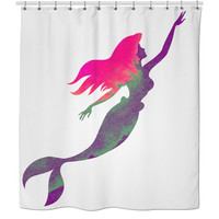 The Lil Mermaid Shower Curtain
