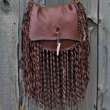 Designer handbag Fringed handbag Leather crossbody bag