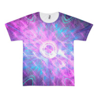 Opening a Shiny Purple Button || Short sleeve men's t-shirt (unisex) — Future Life Fashion