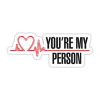 Grey's Anatomy - You're My Person by Skulltech