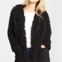 Women's Smythe 'Mongolian' Faux Fur Coat,