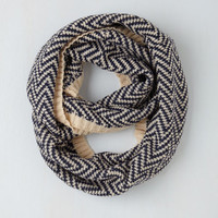 Ideal Mornings Circle Scarf in Navy by ModCloth