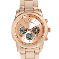 ASOS Chrono Globe Boyfriend Watch