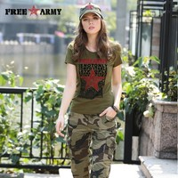 Summer Ladies T-Shirt Characters Letter Printing Tees Novelty T Shirt Women Short Sleeves Knitted tshirt